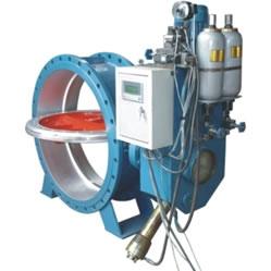 HD7X41X 型 PN6~PN16 蓄能器式液控缓闭止回蝶阀